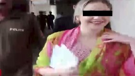 Soud s českou pašeračkou: Tereza (22) má 5 důvodů k úsměvu!