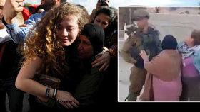 17letou dívku pustili z vězení: Zfackovala vojáka, velebí ji i prezident Palestiny