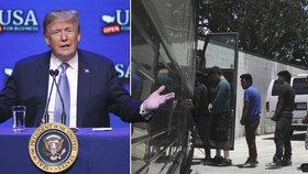 Trump hrozí, že ochromí vládu. Chce naplno prosadit své řešení migrační krize včetně zdi