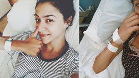 Zpěvačka Burešová před nástupem do Tváře: Kapačky nezabraly, musí na operaci
