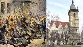 """První pražská defenestrace odstartovala husitské války. """"Na mušce"""" byly nejdřív Vysočany a Prosek"""
