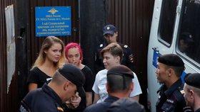 Rusko porušilo práva Pussy Riot: Členky skupiny dostaly tučné odškodné