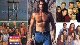 10 seriálů, které jsme v devadesátkách hltali. A kdo říká, že ne...