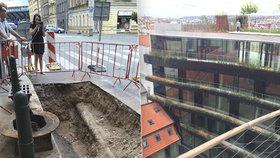 Praha se »vaří ve vlastní šťávě«: Pomohlo by více stromů, jejich výsadba je kvůli inženýrským sítím složitá