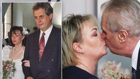 Zeman s paní Ivanou slaví stříbrnou svatbu. Jak šel čas s prezidentským párem?