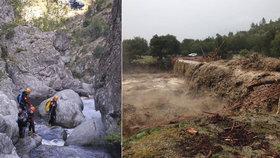 Bouře v dovolenkovém ráji zabila pět turistů včetně holčičky (†7). Zemřeli v kaňonu