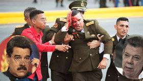 Atentát na prezidenta Venezuely: Maduro z pokusu viní Kolumbii, ta to odmítá