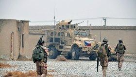 Český voják po útoku v Afghánistánu ochrnul. Za týden měl jet domů