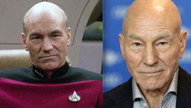 Plešoun se vrací: Patrick Stewart bude opět hrát Jeana-Luca Picarda ve Star Treku