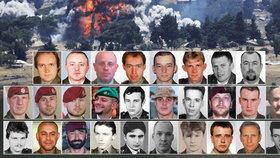 Martin, Kamil, Patrik a 25 dalších: Koho už Česko ztratilo na zahraničních misích?