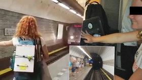 Cestující v ohrožení?! Řidič pustil »za volant« pražského metra dvě dívky, případ řeší policie