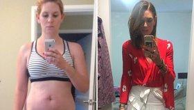 Nikdy nevkročila do posilovny. Máma dvou dětí cvičí doma a shodila přes 30 kilogramů!