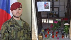 """Na Patrika (†25) vzpomínají doma i ve škole. """"Nikdy neříkal, že chce být vojákem"""""""