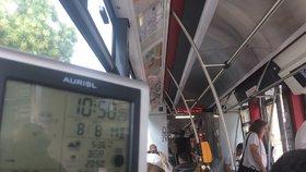 Ve které tramvaji je přes léto nejlépe? Rozdíly jsou minimální, vedro panuje všude