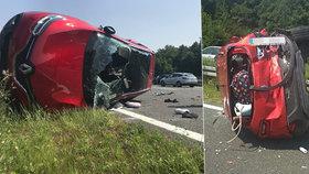 Drsná nehoda Čechů v Chorvatsku: Třikrát přes střechu, pak peklo v nemocnici, popsala Nikola