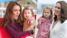 Princezna Charlotte má dvojnici! Tříletá Scarlett už na tom vydělává