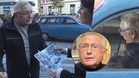 Jiří Menzel (80) těsně před kolapsem: Tělo ho varovalo bolestí v noze!