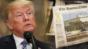 Nejsme nepřátelé lidu. Přes 300 amerických deníků se naráz postaví Trumpově kritice
