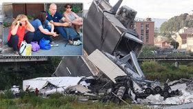 Nad hlavami jim padal most, beton odpadával už dřív. Po tragédii skončí lidé na ulici?