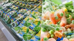Jak převážet mraženou zeleninu?