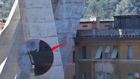 Byl italský most vadný od začátku? Do konstrukce zasahovaly střechy domů