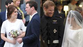Svatba Eugenie jako přes kopírák veselky Harryho a Meghan? Co je stejné a co museli změnit?