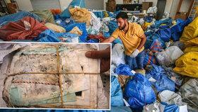 Roky jim blokovali zásilky na poště. Staré pohledy, léky či vozík míří mezi Palestince