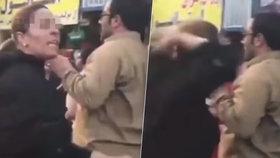 Odvážná žena si na ulici strhla hidžáb: Muslimský duchovní jí vyhrožoval zatčením