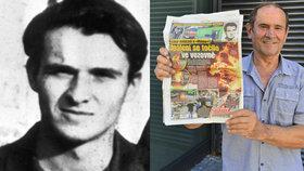 Alois Lagron (75) riskoval život. Přes hranice pašoval Palachovy věci