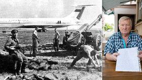 """""""Letadla přistávala 300 metrů ode mě. Předzvěst zlé a temné doby..."""" Antonín Hubený (70) popsal vpád okupantů na letiště"""