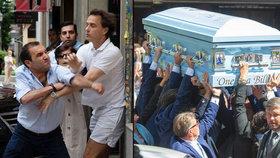 Luxusní romský pohřeb za 3 miliony se zvrhl: Smuteční hosté se porvali!