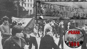 """25. srpna 1968: """"Máte tu dva miliony anarchistů, všechny je zlikvidujeme,"""" říkali vojáci"""