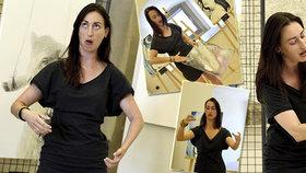 Obrazy skrze ni promlouvají: Jitka (31) svým tělem oživuje umělecká díla
