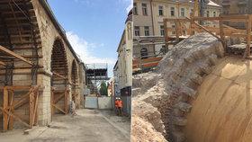 FOTO: Opravy Negrelliho viaduktu zdrží špatný stav mostních oblouků: 16 jich musí k zemi