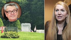 Vdova po Formanovi ukázala jeho dlouho utajovaný hrob: Tady odpočívá oscarový režisér!