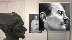 Bůh z Vysočan by oslavil 140 let. Na spisovatele Ladislava Klímu místní nezapomněli, připomíná ho busta a výstava