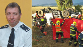 Při nehodě cisterny zemřel hasič Jiří (†57). Jeho kolega přišel o nohu