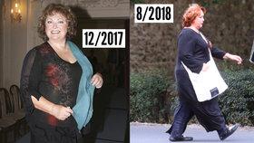 Bojovnice s váhou Naďa Konvalinková: Opět se zakulacuje