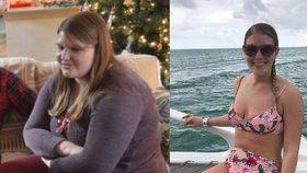 Nepoznala se na fotkách, proto shodila 45 kilo. Pomohla jí tato 3 pravidla!