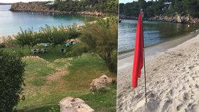 Páchnoucí rána pro dovolenkový ráj. I Čechům na Menorce zkazily moře fekálie