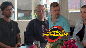 Homofob ve Výměně manželek po soužití s gayem: Překvapivý zvrat během osmi očí!