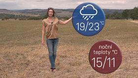 Počasí s Honsovou: Konec prázdnin bude deštivý, k vodě už to lákat nebude