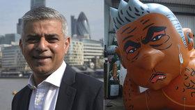Londýnský starosta terčem recese: Udělali z něj balon a navlékli mu žluté bikiny