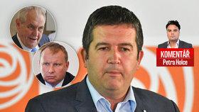 Komentář: Sliby chyby. Hamáček a ČSSD vysedí Pocheho až do voleb