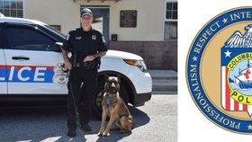 """Policista postřelil služebního psa (†3) poté, co se """"parťák"""" obrátil proti němu"""