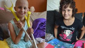 Leničce (12) poslali čtenáři Blesku 100 000 pohledů: Porazila rakovinu a po roce zase míří do školy!