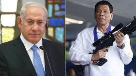 Filipínský prezident se přirovnal k Hitlerovi. Teď vyrazil na nákup zbraní - do Izraele