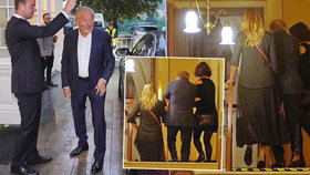 Strach o Gotta: Ze schodů mu musela pomáhat manželka a vnučka Formana!
