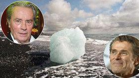 Vědci startují nový boj s klimatickými změnami. Podpořil ho Delon nebo Dafoe