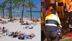 V dovolenkovém ráji Čechů migrant pobodal dva Němce. Křičel přitom arabsky